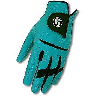 HJ Glove Mens Gripper II Golf Glove, Cadet Left Hand, Medium/Large, Teal