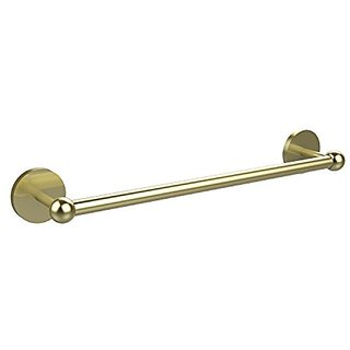 Allied Brass P1041/24-SBR 24-Inch Towel Bar, Satin Brass