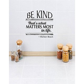 Design with Vinyl 2 C 2236 Decor Item be Kind Thats What Matters Most in Life Image Quote Wall Decal Sticker, 16 x 24-In