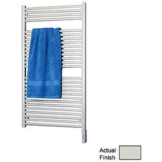 Runtal RTREG-4630-9002 Radia Electric Towel Radiator Plug-In 46-in H x 30-in W Gray White