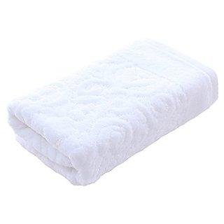 Riverbyland Absorbent Cotton Towel White Floral Pattern 30