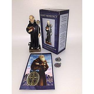 Saint Benedict Home Protector Statue *Figurine