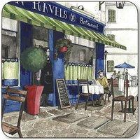 Pimpernel Cafe De Paris Coasters - Set Of 6