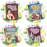 Set Of Four Olive Sandwiches - Kids Occasions Drink Coasters - Style XVVS10