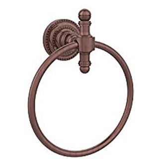 Allied Brass RD-16-CA 6-Inch Towel Ring, Antique Copper