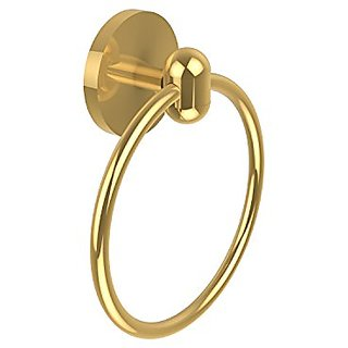 Allied Brass TA-16-PB 6-Inch Towel Ring, Polished Brass