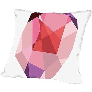 American Flat Geometric Gemstone 3, Urban Road Pillow by Urban Road, 20
