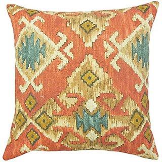 The Pillow Collection Nouevel Ikat Pillow, 20