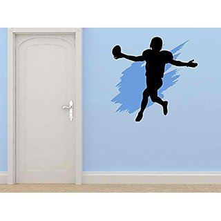 Design with Vinyl Cryst 227 389 As Seen Football Sports Team Player Running Kicking Throwing Passing Mens Boys Kids Viny