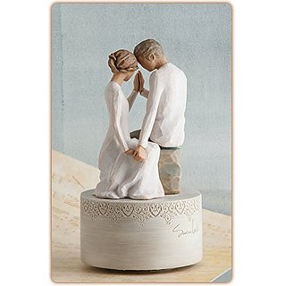Willow Tree Around You Musical Rotating Love Theme Figurine by Susan Lordi 27465