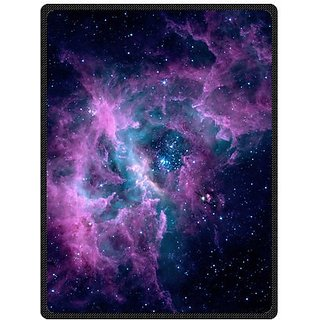 Galaxy Sky Home Galaxy Space 58 Inches X 80 Inches (Large) Fleece Blanket