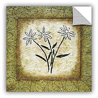 ArtWall Herb Dickinsons Sophisticai Art Appeelz Removable Graphic Wall Art, 18 x 18