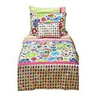 Botanical Multi 4 pc Toddler Bedding Set