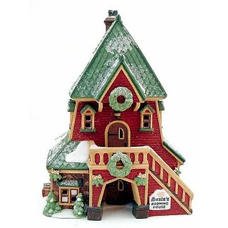 Santas Rooming House 1995 North Pole Heritage Village Dept. 56 Series