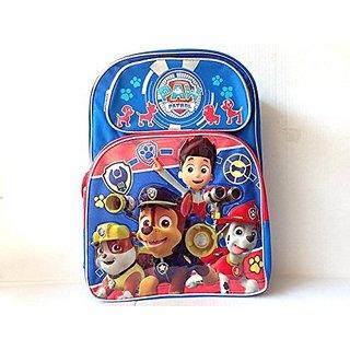 New Nickelodeon Paw Patrol Big Head 3 D Large School Backpack-5348