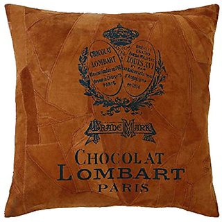 Benzara Decorative Real Leather Pillow with Modern and Classic Settings