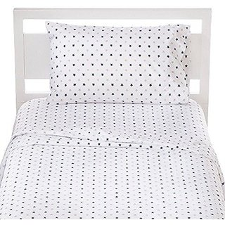 Kids Blue and Gray Star Sheet Set - Full