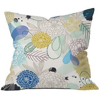 DENY Designs Khristian A Howell Whisper 2 Throw Pillow, 18 x 18
