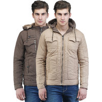 Be-Beu Mens Reversible Jacket