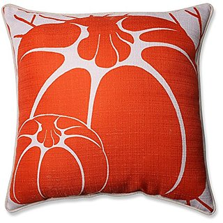 Pillow Perfect Two Pumpkins Corded Throw Pillow, 16.5