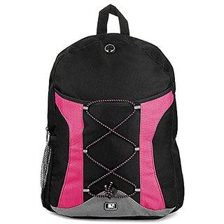 SumacLife Canvas Athletic Ultra-Lightweight Sport Backpack (Magenta),