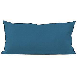 Howard Elliott Q4-298 Kidney Patio Pillow, Seascape Turquoise