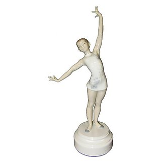 Lladro Gymnast Figurine