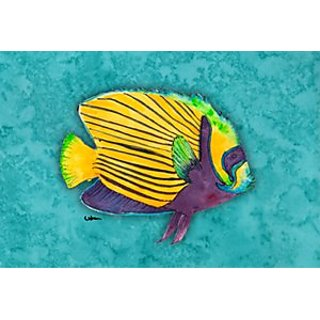Carolines Treasures 8674PILLOWCASE Fish Tropical Moisture Wicking Fabric Standard Pillowcase, Large, Multicolor