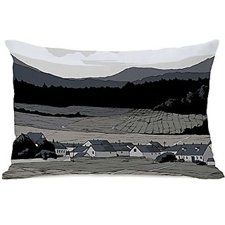 Bentin Home Decor Open Field Throw Pillow w/Zipper by Matthew Woodson, 14