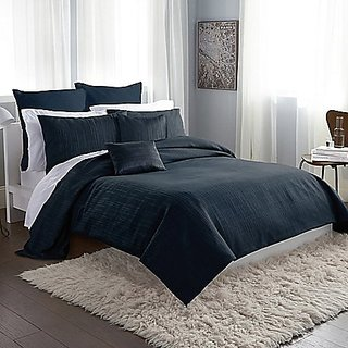 DKNY City Line Duvet cover-Midnight Blue-King