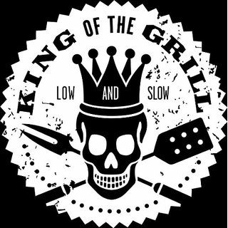Design with Vinyl King Of The Grill Picture Art - Peel & Stick Vinyl Wall Decal Sticker Size : 20x20 Color : White White