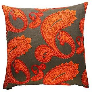 Canaan Company Stockholm Decorative Throw Pillow, Orange