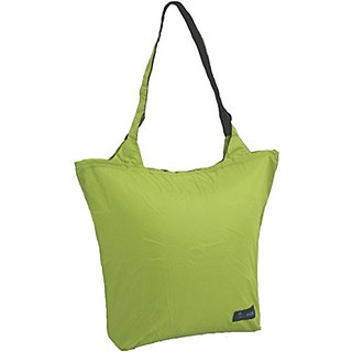 JR Gear Stuffable Light Weight In A Pocket Sling Bag, Lime, 15 L,15 L