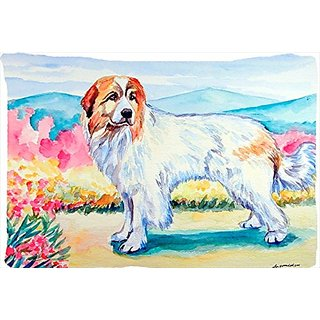 Carolines Treasures 7130PILLOWCASE Great Pyrenees Moisture Wicking Fabric Standard Pillowcase, Large, Multicolor