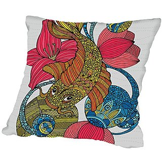 American Flat Koi Pillow by Valentina Ramos, 16