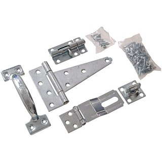 The Hillman Group 853166 Barn Hardware Kit - Zinc Plated 1-Pack