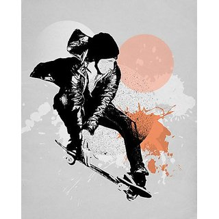 Wheatpaste Skate Splash Posters that Stick Wall Decal by WP House, 28 by 35 - Inches
