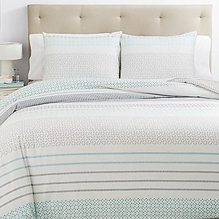 BLISSLIVING - Mataveri Multi Color King Duvet Cover Set