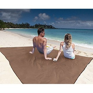 The Best Beach Blanket: Microfiber with Anchor Pockets, Fits 2 People