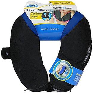 Cloudz Adjustable Travel Pillow - Blue/Black
