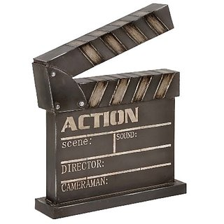 Metal Clapper Board, 14 by 18-Inch