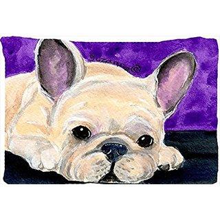 Carolines Treasures SS8698PILLOWCASE French Bulldog Moisture Wicking Fabric Standard Pillowcase, Large, Multicolor