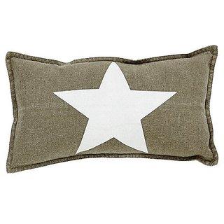 Gettysburg Star Pillow 7x13