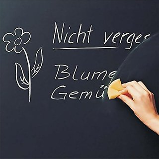 Actpe Chalkboard Wall Decor Sticker Message Center with 3 FREE Marker Pen DIY & 1 dry Eraser for School, Business, Home
