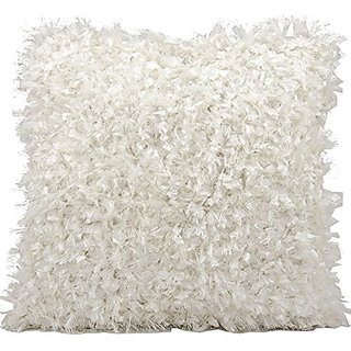 Michael Amini Decorative Pillow By Nourison, White, 20