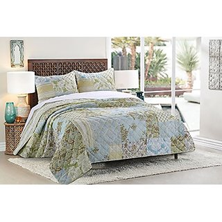 Greenland Home 3 Piece Mallory Quilt Set, King