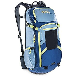 Evoc FR Trail Stone/Navy Medium/Large EVFRTR-STML Protector Hydration Pack,Medium/Large