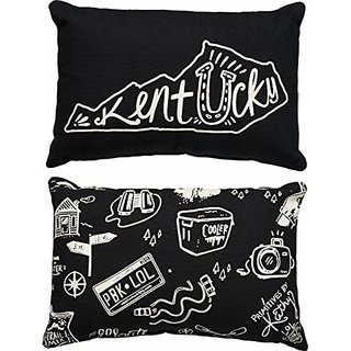 Primitives by Kathy State Pillow Kentucky Black 8 x 12