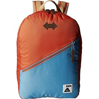 Poler Mens Drifter Pack True Blue, Burnt Orange, One Size