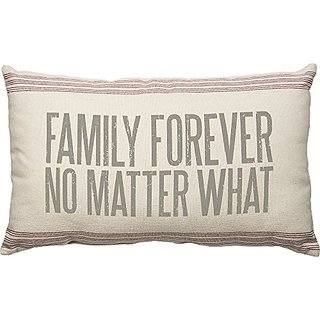 Family Forever Large Accent Pillow by Primitives by Kathy 25